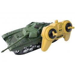 Czołg-zielony-zdalnie-sterowany-pilotem