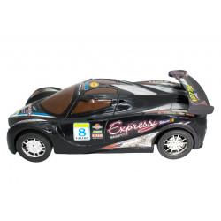 Czarne-sportowe-autko
