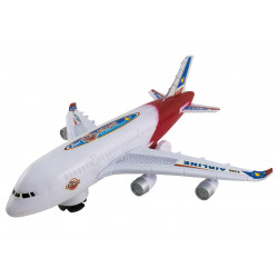 Samolot biały Air Bou