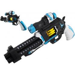 Pistolet dla dzieci rewolwer zabawka na baterie