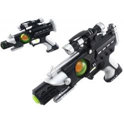 Pistolet kosmiczny na baterie dla dzieci