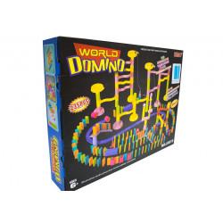 Domino kulodrom zestaw zabawka tor kulkowy