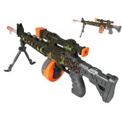 Broń zabawkowa karabin dla dzieci efekty światło dźwięk