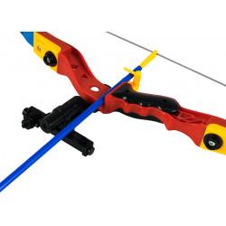 Łuk zabawkowy emitujący tarczę