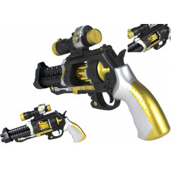 Pistolet rewolwer zabawkowy