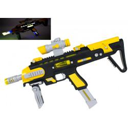 Karabin zabawkowy żółto czarny