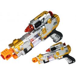Pistolet z laserem dla dzieci na baterie