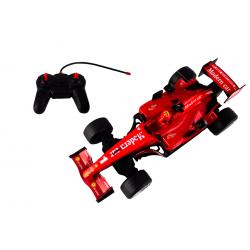 Auto czerwone na sterowanie