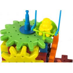 Kreatywne klocki zębatki ruchome