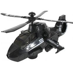 Helikopter zabawka czarny dźwięk światło